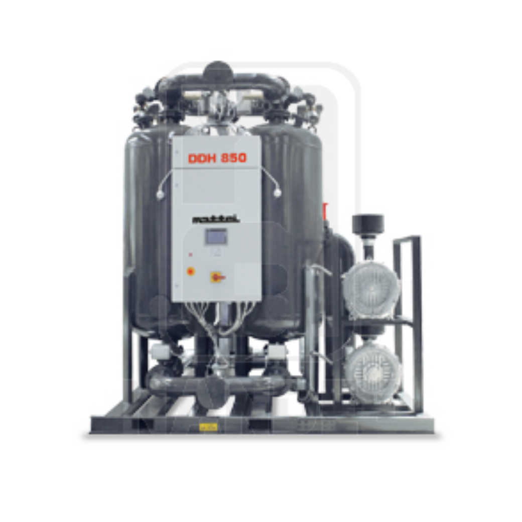เครื่องทำลมแห้ง MATTEI Adsorption Dryers รุ่น DDH RANGE series