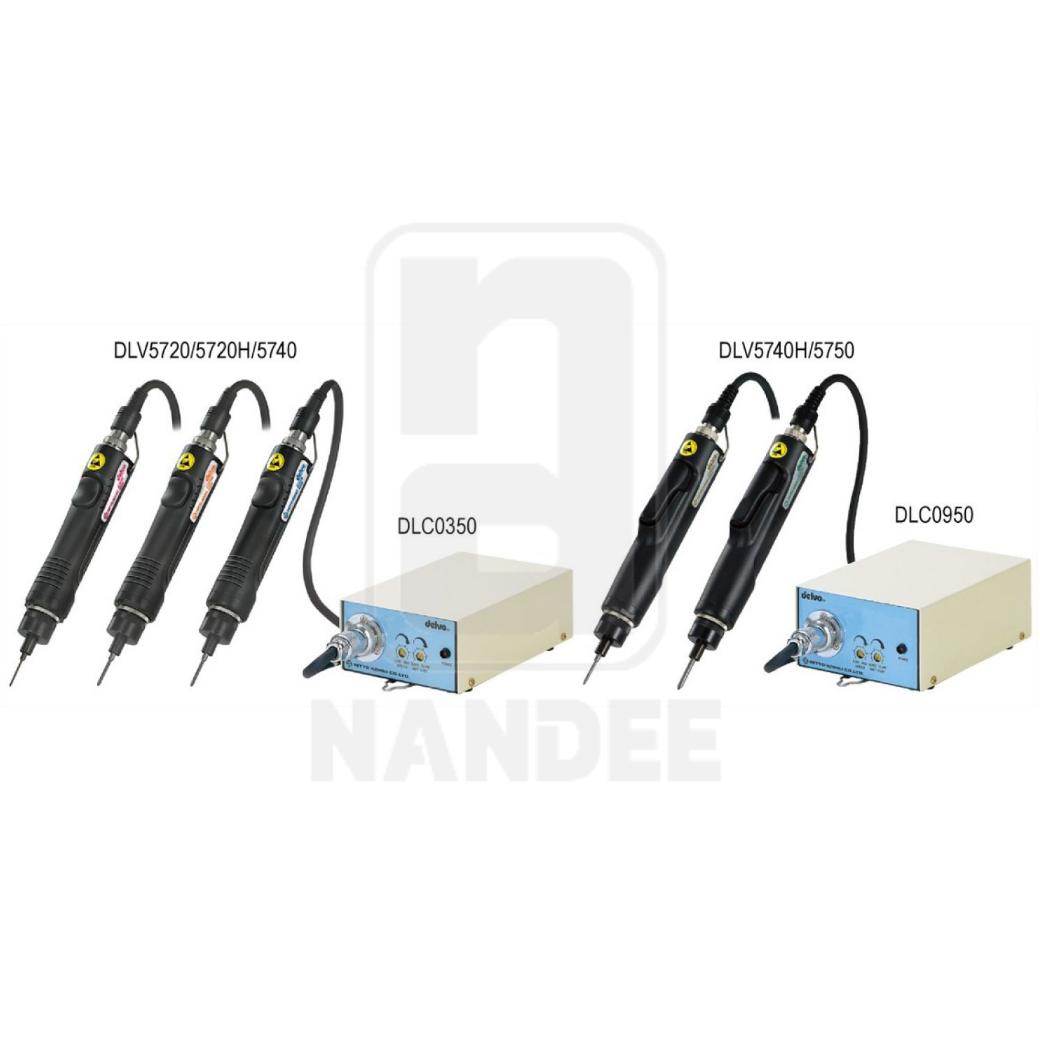 ไขควงไฟฟ้าใช้แปลงถ่าน รุ่น DLV5700 SERIES