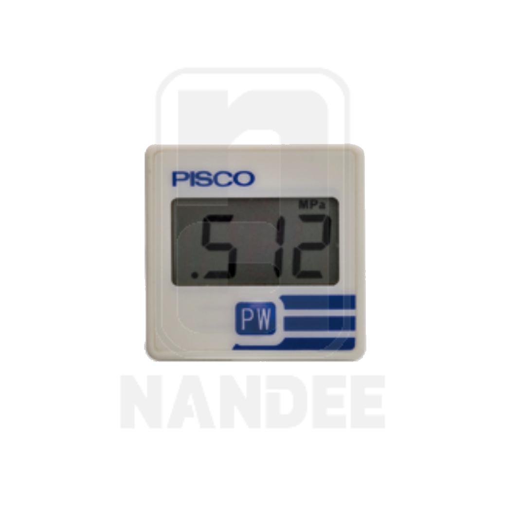 เกจวัดแรงดันแบบดิจิตอล PISCO รุ่น GPD series