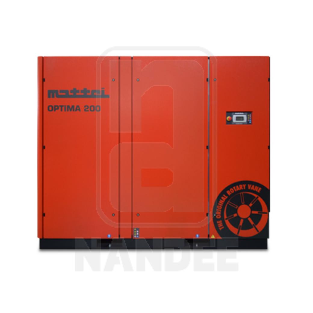 ปั๊มลมระบบโรตารี่เวน MATTEI รุ่น OPTIMA 200 series