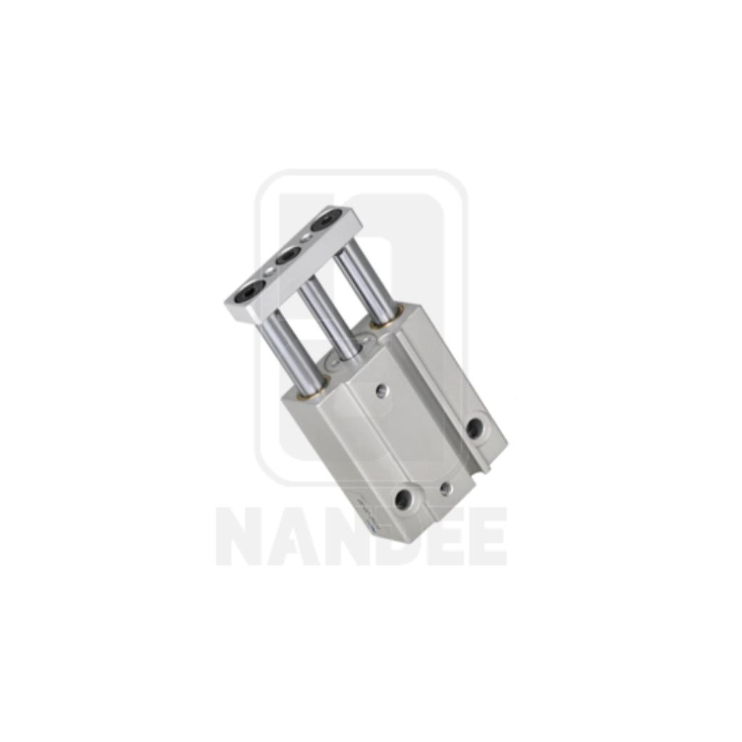 กระบอกสูบ Twin Guide Cylinder Compact  PISCO รุ่น PCGS series
