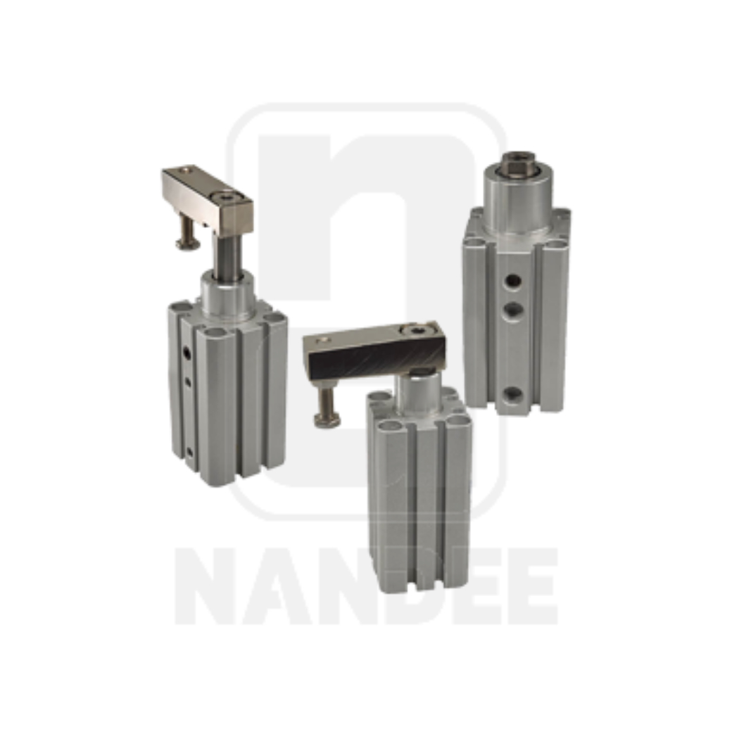 กระบอกสูบ Clamp Cylinder Thin type 90˚ Rotation type  รุ่น PCKC series