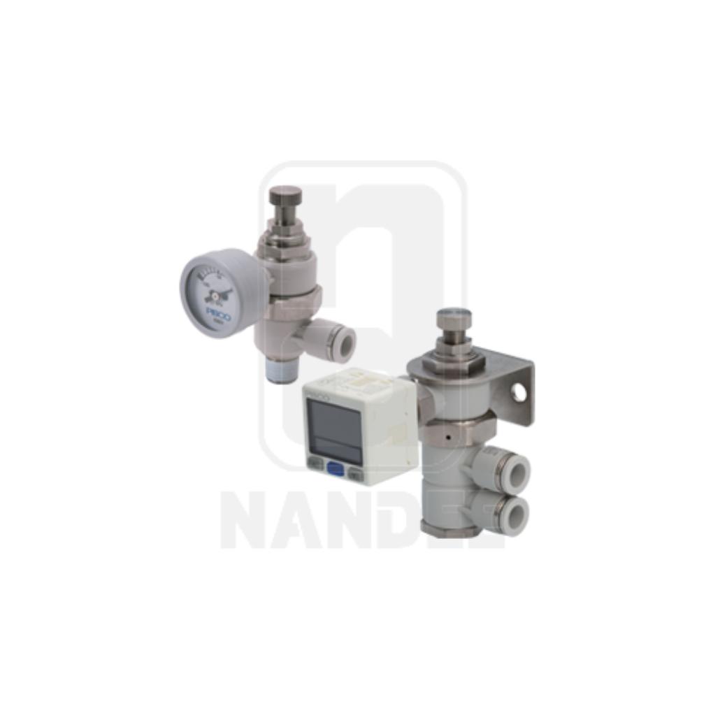 Small Vacuum Regulator PISCO รุ่น RVV series