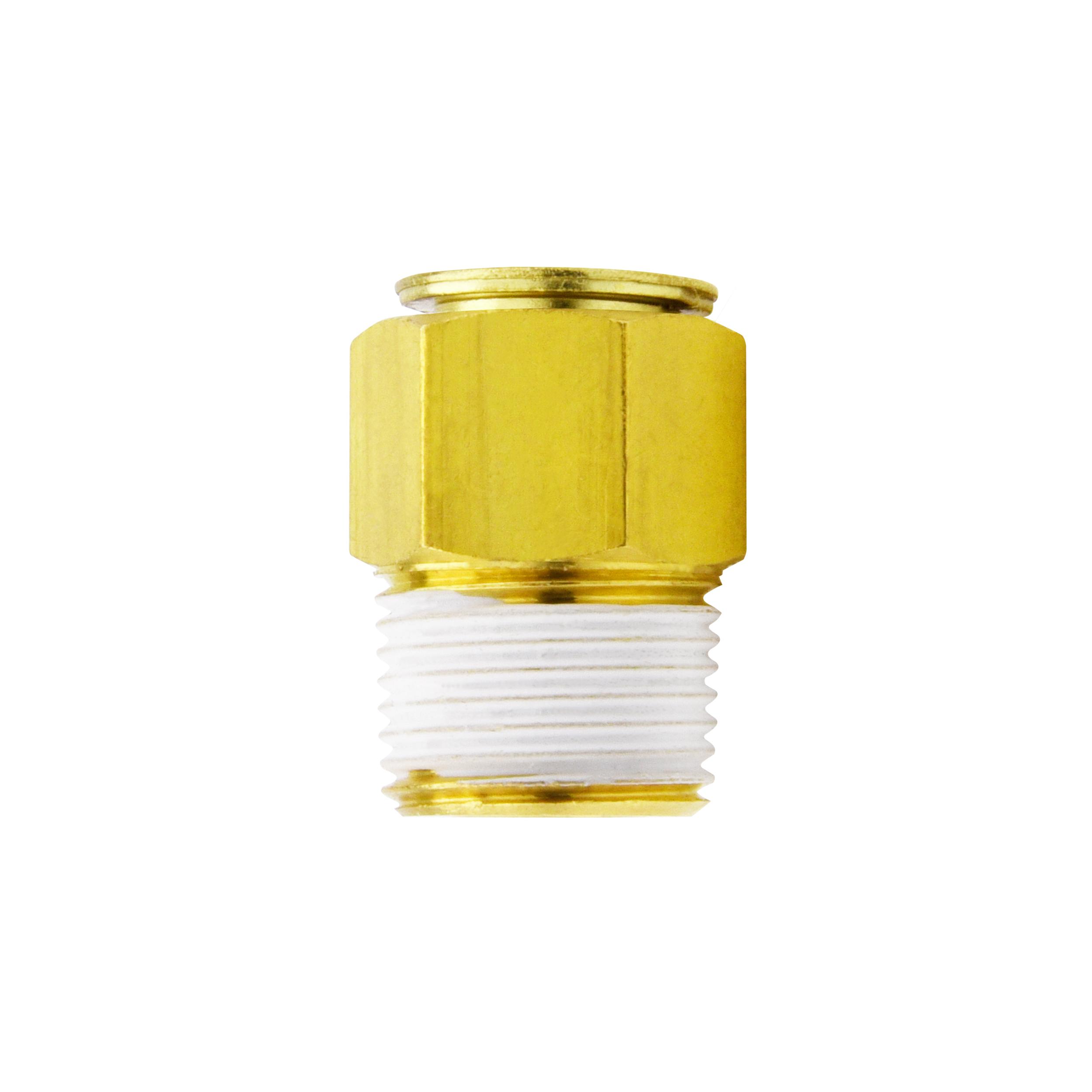 ข้อต่อฟิตติ้งทองเหลือง (C-ring+FKM) Touch connector fuji series (viton)