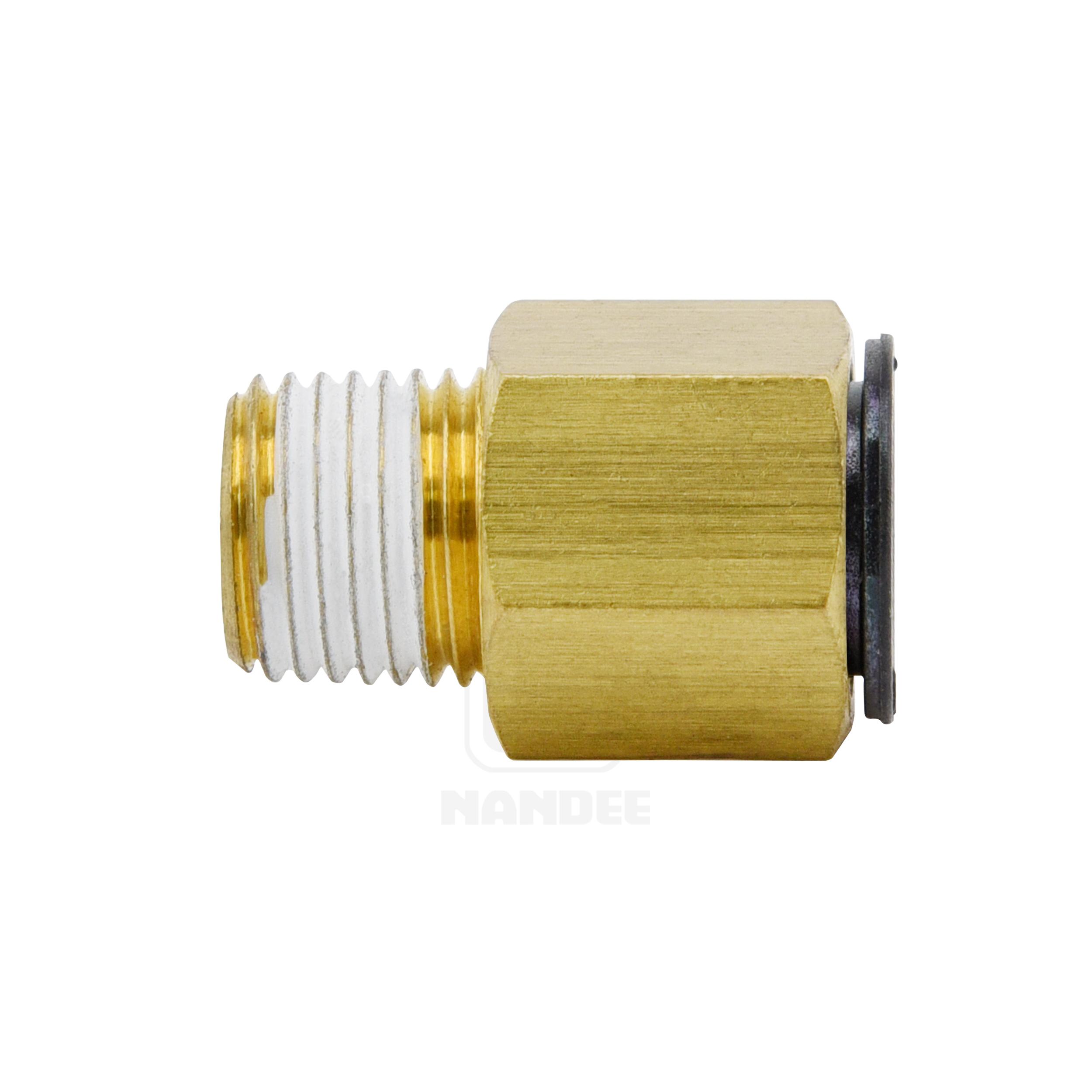 ข้อต่อฟิตติ้งทองเหลือง (C-ring) Touch connector fuji